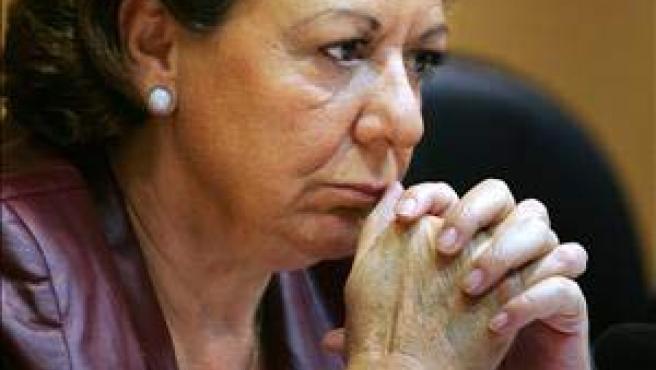 La alcaldesa de Valencia, Rita Barberá.