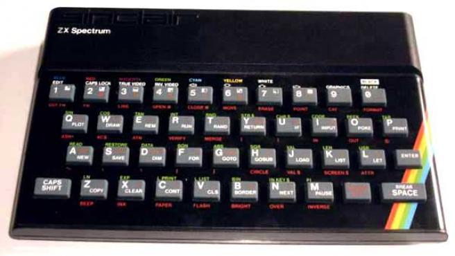 Ordenador Spectrum (ARCHIVO)