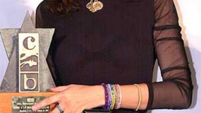 Carmina Ordóñez, en una foto tomada en 2002.