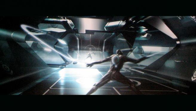 Una de las imágenes de arte conceptual de 'Tron: Legacy' presentadas en la Comic-Con de San Diego.