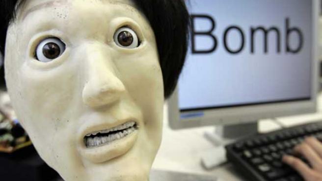 Una imagen de Kansei, un robot que muestra sentimientos humanos.