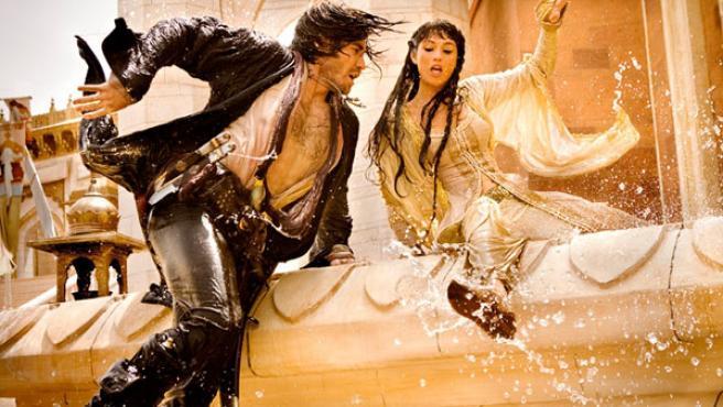 Jake Gyllenhaal y Gemma Arterton en 'Prince of Persia: Las arenas del tiempo'.
