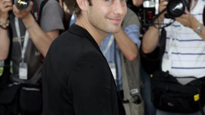Jude Law posa ante la prensa en el Festival de Cannes de este año.