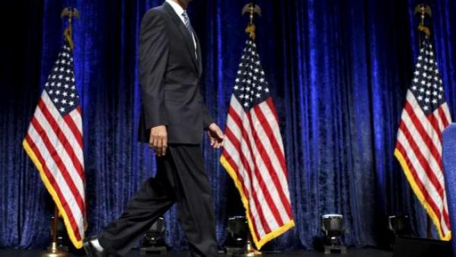 Barack Obama, presidente electo de los EE UU.