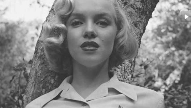 Una imagende Marilyn Monroe, publicada por 'Life'.