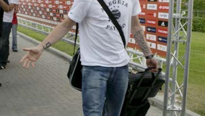 Fernando Torres, en Las Rozas.