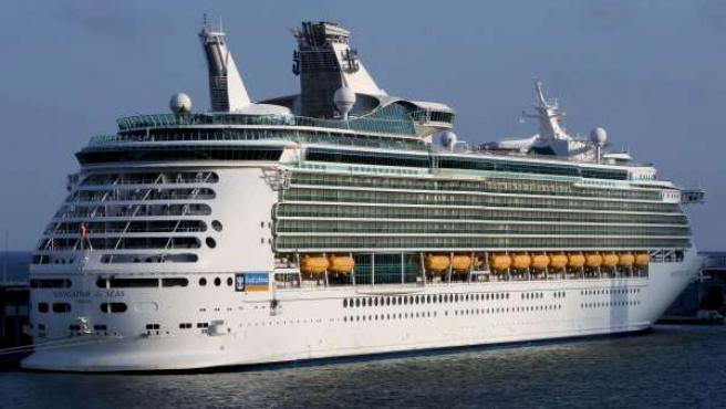 El crucero 'Navigator of the Seas', de la compañía Royal Caribbean.