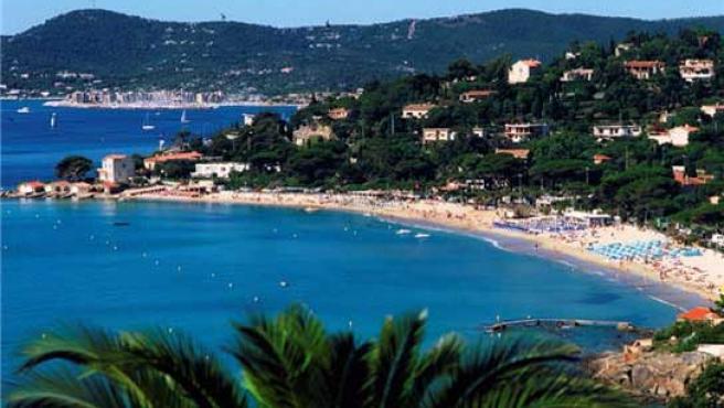 Playa de Cassis, a 30 kilómetros de Marsella.