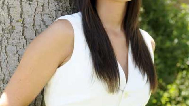 Vanessa Martyn, la presentadora del programa 'El Diario' durante el mes de agosto.