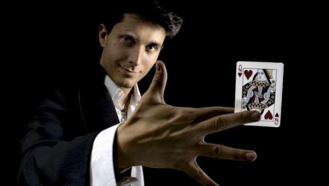 El mago Jorge Luengo.