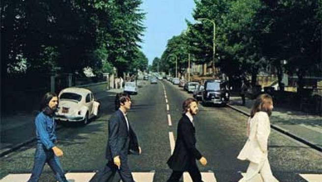 Imagen de portada del disco 'Abbey Road', de The Beatles.