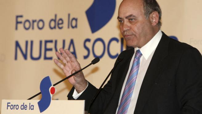 El presidente de la CEOE, Gerardo Díaz Ferrán.