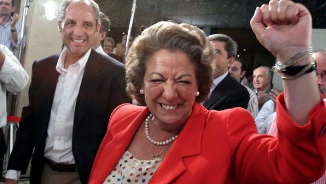 La alcaldesa de Valencia, en una imagen de archivo.