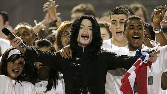 Michael Jackson en una imagen de archivo.