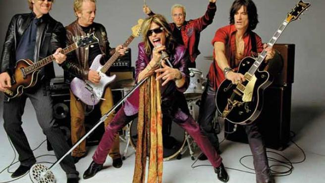 La banda Aerosmith en una imagen de archivo.