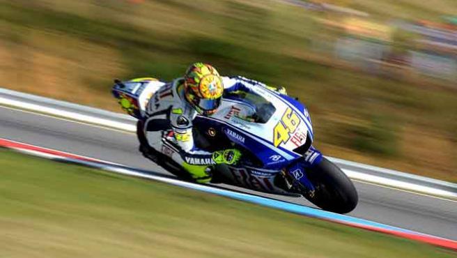 Rossi, el más rápido en Brno.