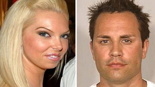 Jasmine Fiore y el principal sospechoso de su asesinato, su pareja, Ryan jenkins.
