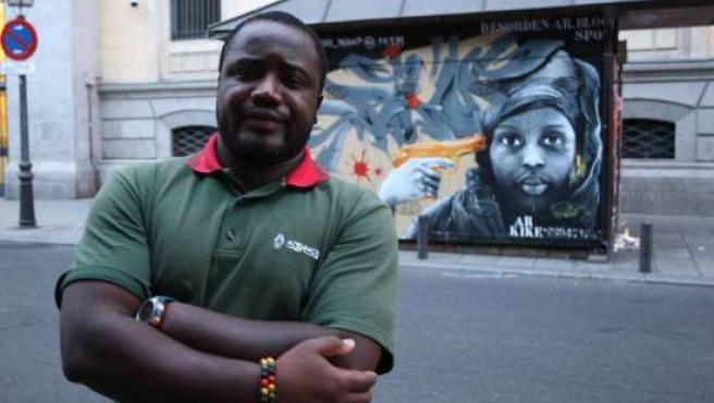 Alfredo Albino ha sido víctima de una agresión racista por parte de tres jóvenes madrileños.