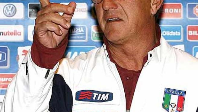 Marcello Lippi, seleccionador italiano.