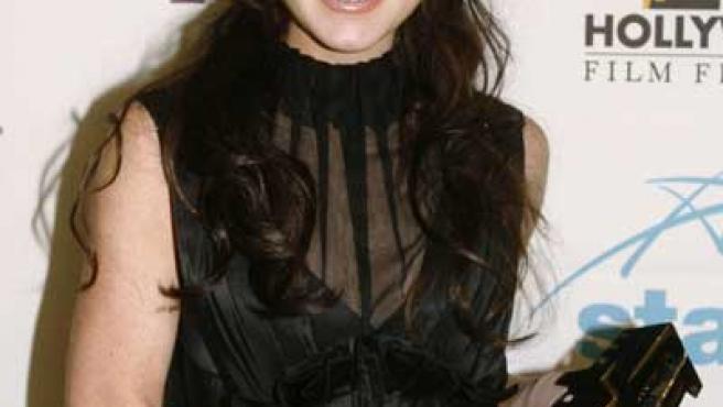 A la actriz Lindsay Lohan le molestaba la presencia de hombres en el local.