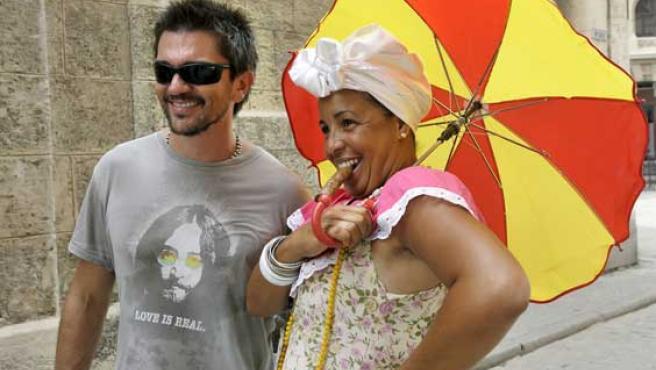 En cantante Juanes, en Cuba el pasado mes de junio.