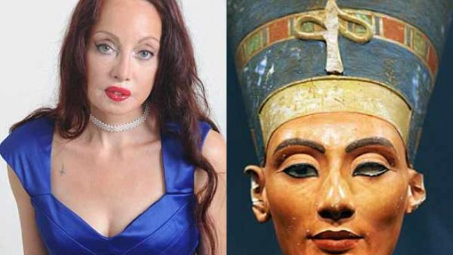 Nileen lleva décadas operando su rostro para asemejarlo al de la reina egipcia Nefertiti.