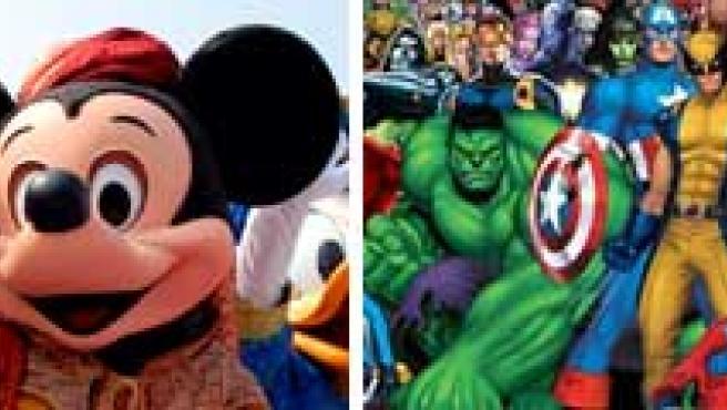 Disney pagará cerca de 2.800 millones de euros por Marvel.