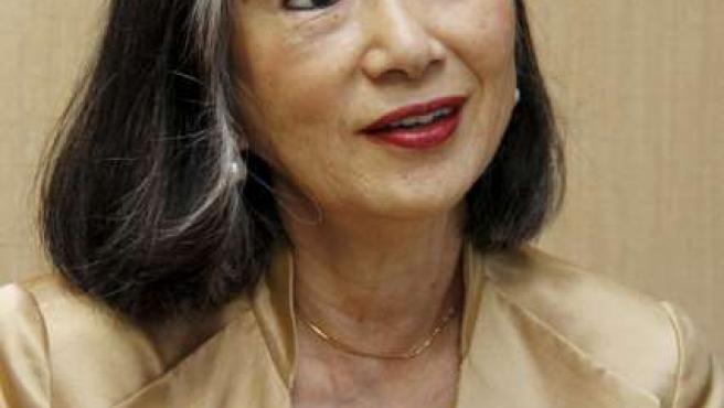 Miyuki Hatoyama, esposa del recién elegido primer ministro de Japón,Yukio Hatoyama.
