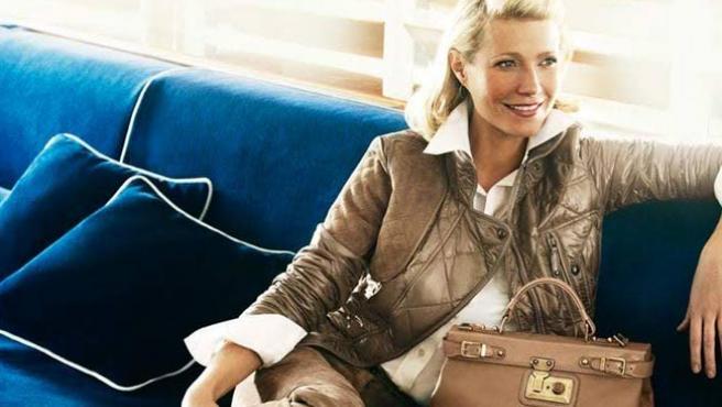 Gwyneth Paltrow, imagen de la marca italiana Tod's (tods.com).