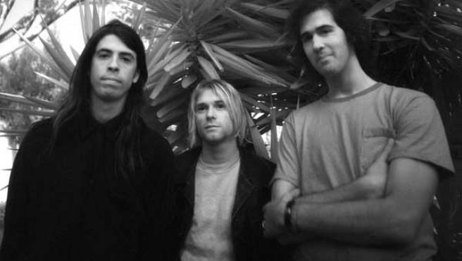 El mítico grupo grunge Nirvana.
