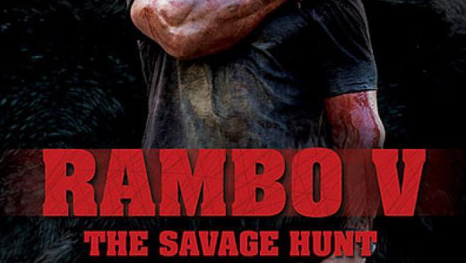 Un primer cartel de 'Rambo V: The Savage Hunt'