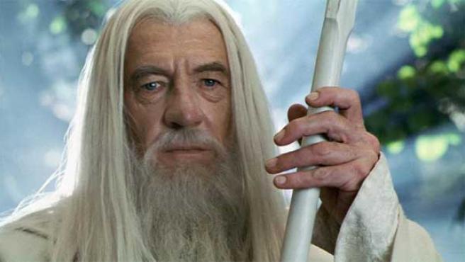 Ian McKellen como Gandalf en 'El Señor de los Anillos'.