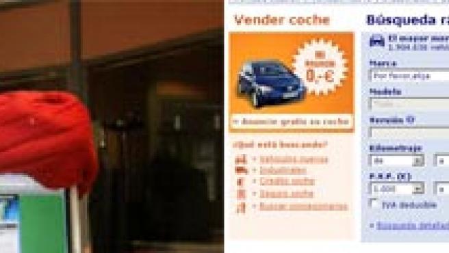 Guillermo Elzo, Profesor Pelusa, nuestro experto en mascotas. A la derecha, la web de motor Autoscout24.es.