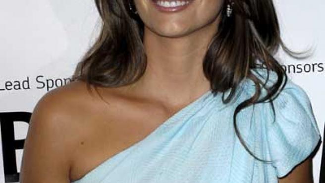 La actriz de 35 años ha negado estar esperando un hijo durante el Festival de Toronto.