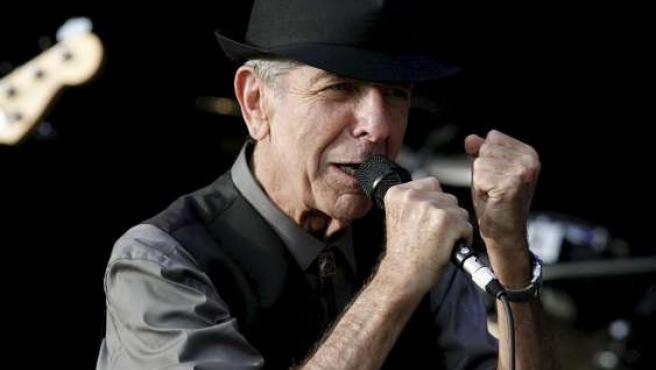 Leonard Cohen en su triunfal actuación del año pasado en el Festival Internacional de Benicássim.