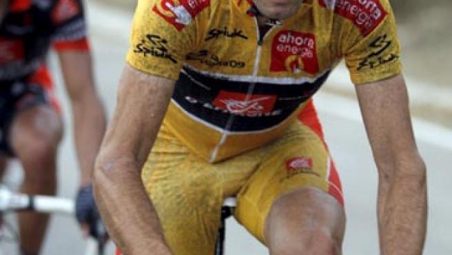"""El ciclista español del equipo Caisse d""""Epargne, Alejandro Valverde."""