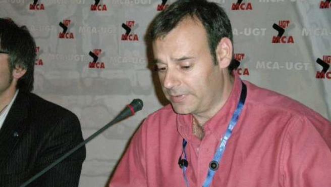 El presidente del comité de empresa de Figueruelas, José Juan Arcéiz.