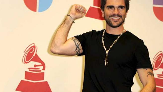 Imagen de Juanes en 2008.