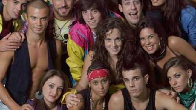 Los nuevos alumnos de la academia de 'Fama ¡a bailar!'.