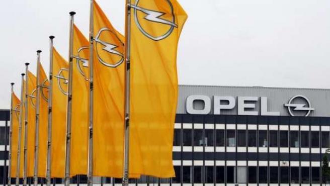 Concesionario de Opel en Alemania.