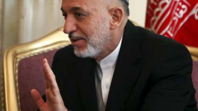 Hamid Karzai, presidente de Afganistán, en una imagen de archivo.