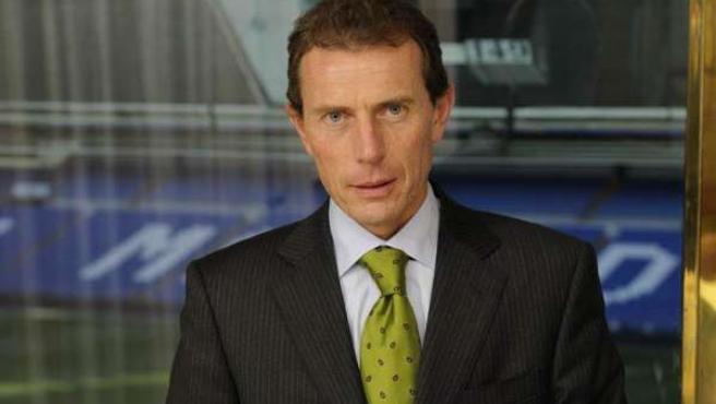 Butragueño, director de la Relaciones Institucionales del Real Madrid.