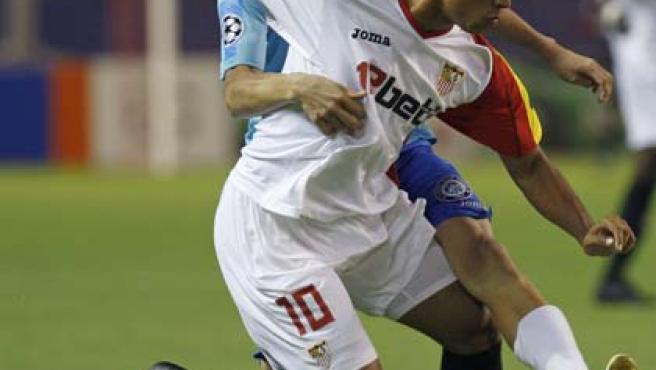 El delantero brasileño del Sevilla CF Luis Fabiano en una imagen de archivo.