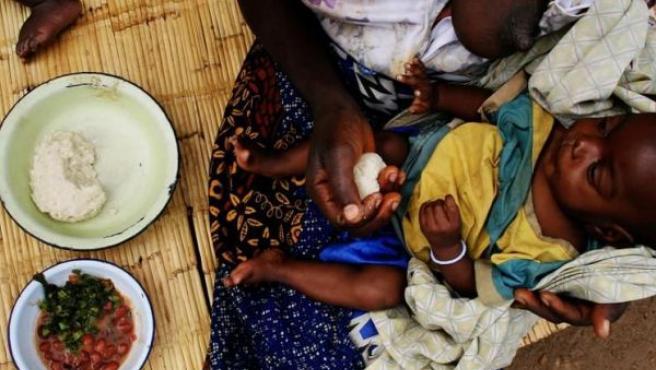 En muchas zonas del planeta el hambre es un problema cotidiano.