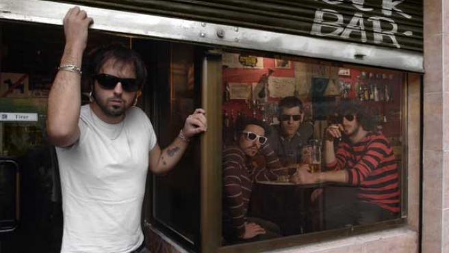 El grupo madrileño Sidecars.