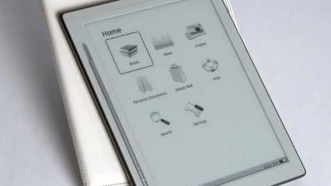 IREX DR800SG, el nuevo lector de libros electrónicos.
