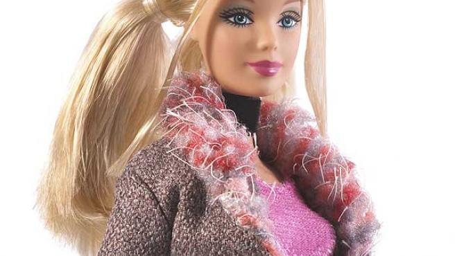 Una de las famosas muñecas Barbie.