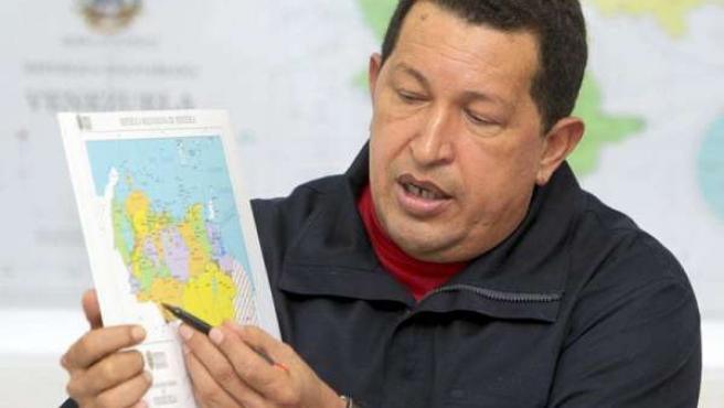 Hugo Chávez, en una imagen de archivo.