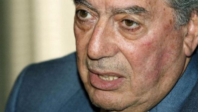 El escritor peruano Mario Vargas Llosa, en una imagen de archivo.