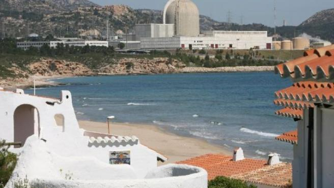 Vista de la central nuclear de Vandellós. (ARCHIVO)